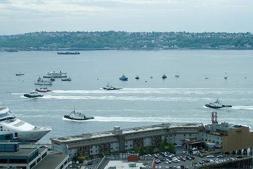 Puget Sound Tugboat Race