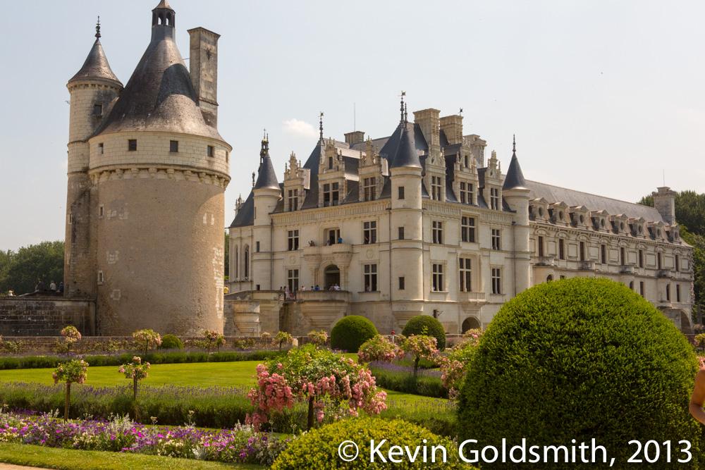 Château de Chenonceau, Copyright Kevin Goldsmith 2013