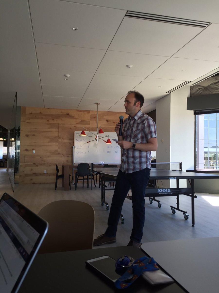 tweet: Kicking off @Avvo hack week with @justinweiss #avv…